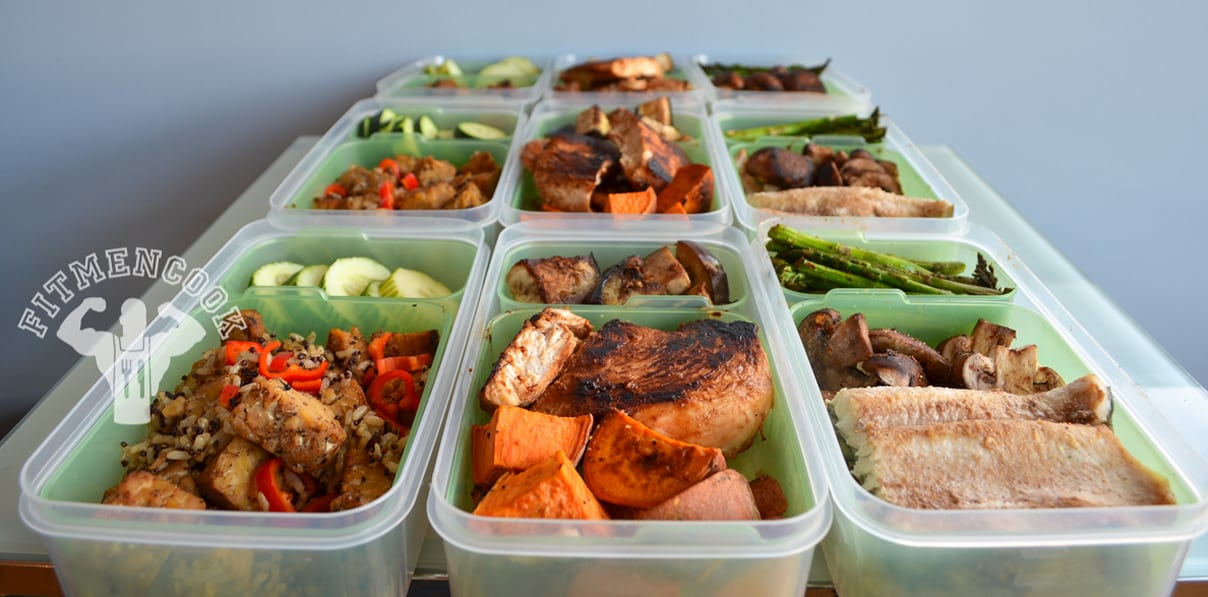 3 meals prepped for week