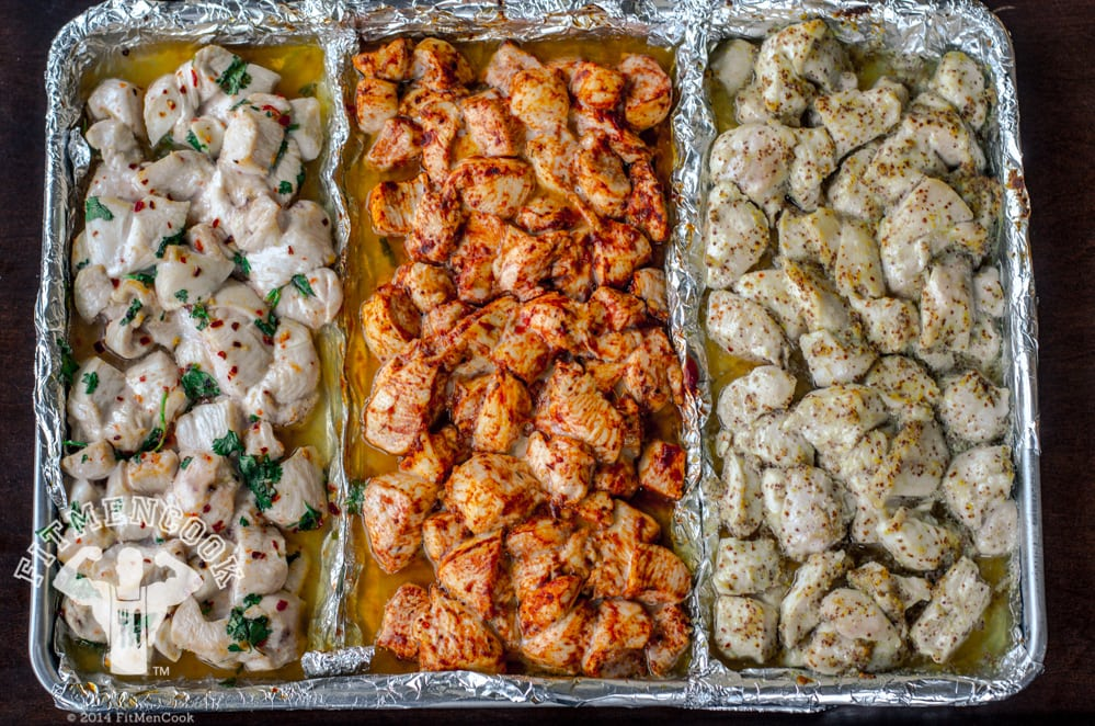 chicken meal prep tip